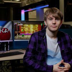 Game on for Japan-bound Scottish games design student